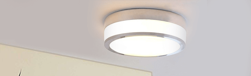 Glazen plafondlampen