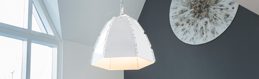Witte lampen