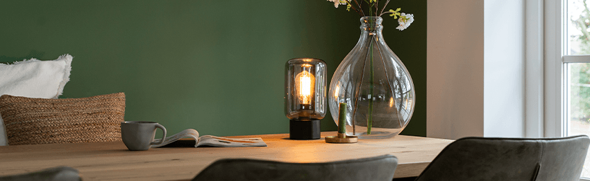 Tafellampen eetkamer