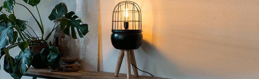 Retro tafellampen
