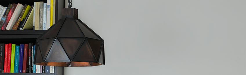 Hanglamp bruin