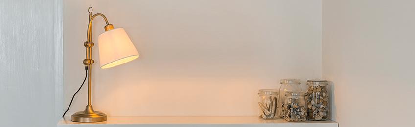 Landelijke tafellampen
