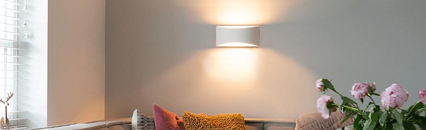 Gipsen lampen