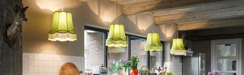 Groene lampen