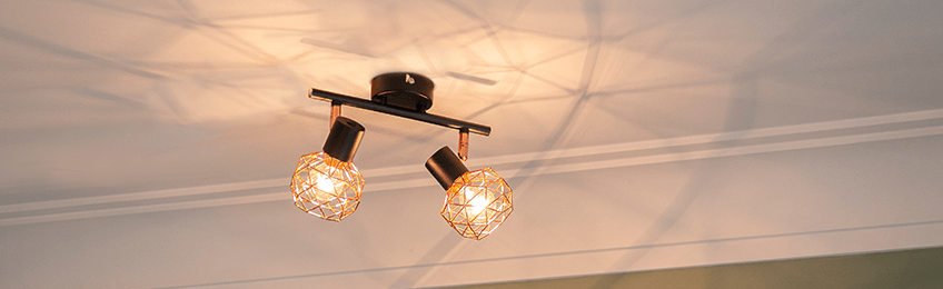 Plafondlampen koper