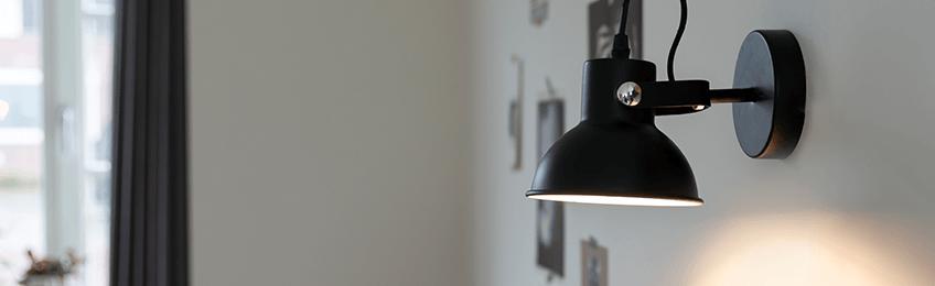 Retro wandlampen