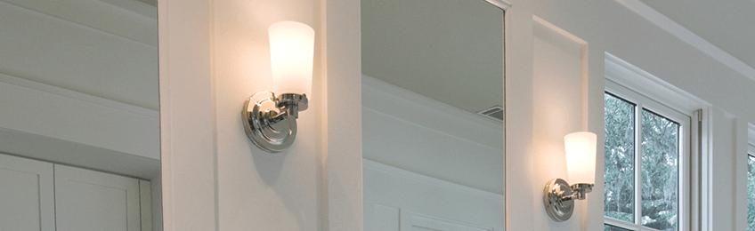 Badkamer wandlampen