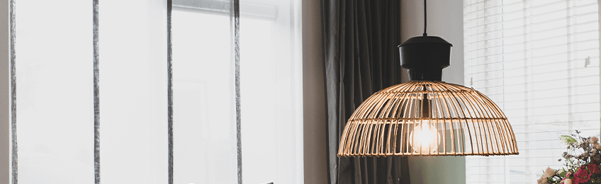 Brocante hanglamp