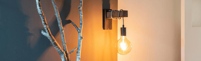 Woonkamer Wandlampen Lampenlicht
