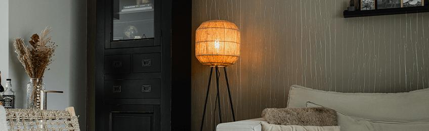Kunststof vloerlampen
