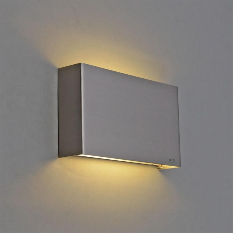 Voorkeur Wandlamp Otan staal LED - Lampenlicht.nl YF32