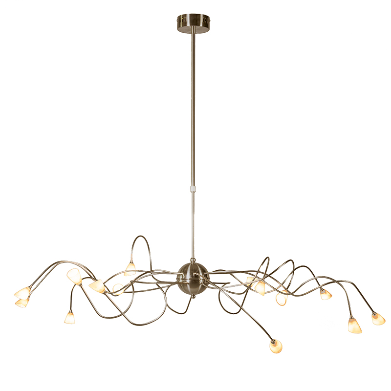 Hanglamp Calamaro 15 brons - Lampenlicht.nl