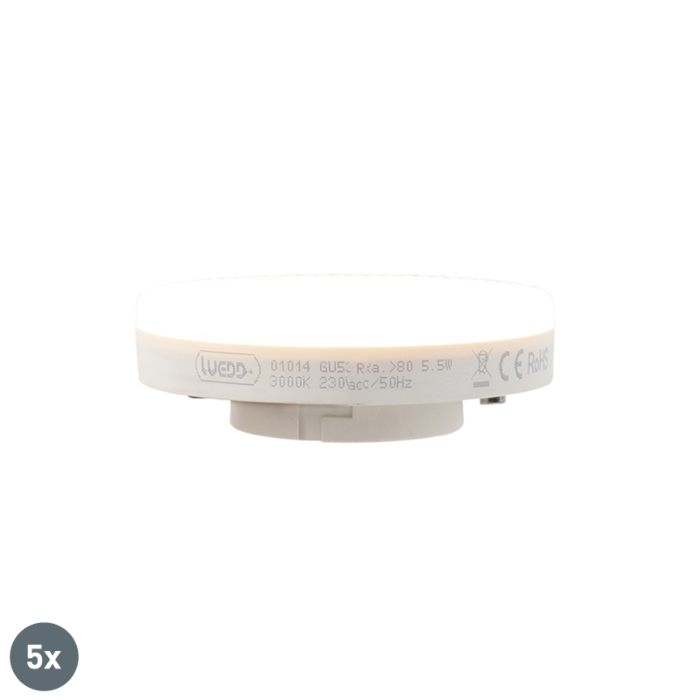 Set-van-5-GX53-LED-lamp-5.5W-470-lumen-3000K