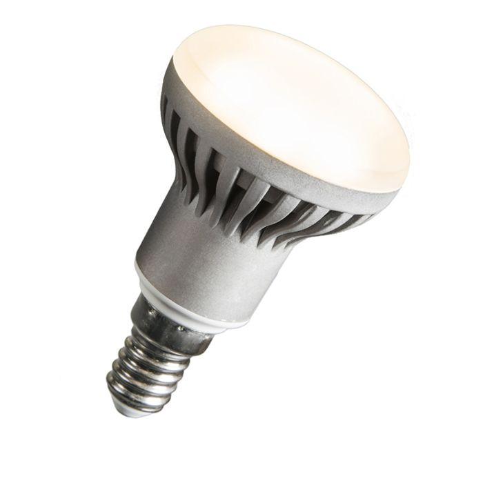 LED-reflectorlamp-R50-E14-240V-5W-2700K-dimbaar