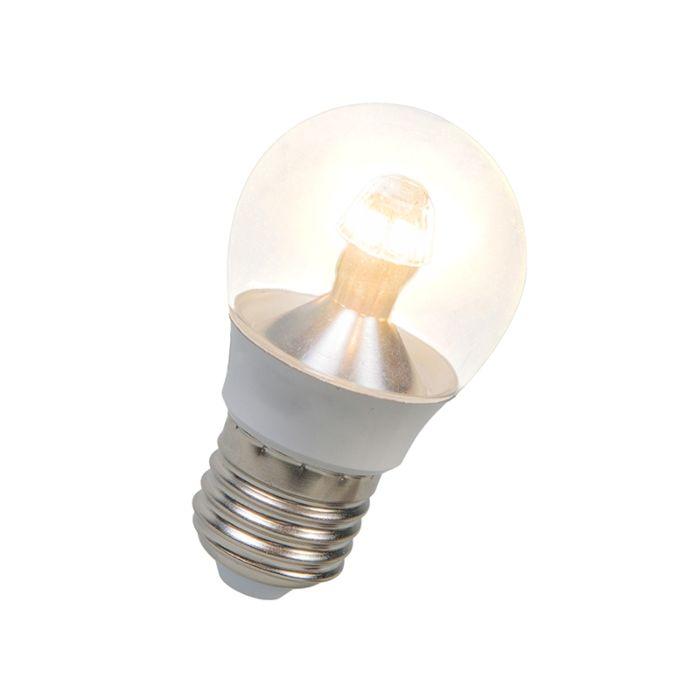 LED-kogellamp-E27-4W-250-lumen-warm-wit-Dimbaar