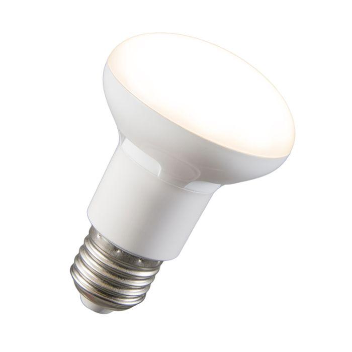 LED-reflectorlamp-R63-E27-240V-8W-2700K-dimbaar