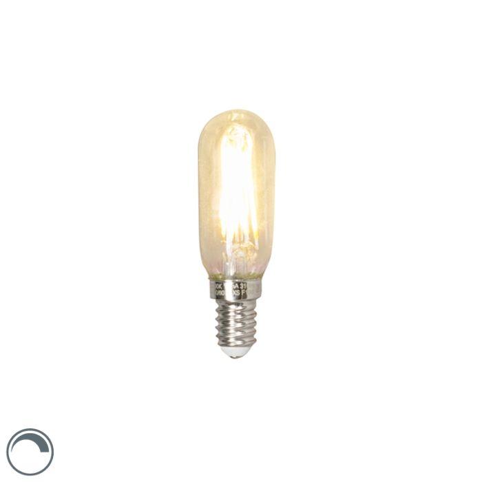 LED-filamentlamp-buis-E14-240V-3,5W-310lm-T24-dimbaar
