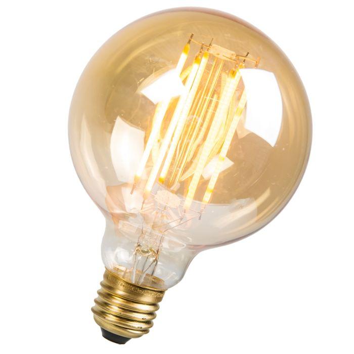 LED-filament-lang-rustieklamp-Globe-95mm-E27-2.7W-170LM-2000K