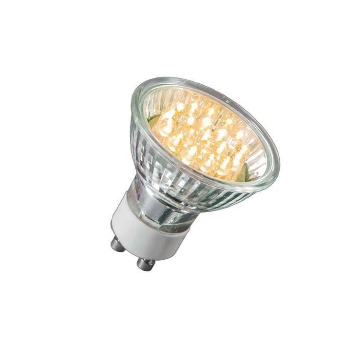 GU10-LED-lamp-21-LED's-warm-wit