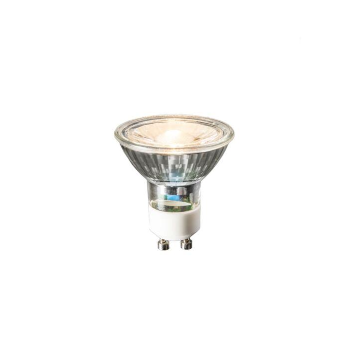 GU10-LED-lamp-240V-3W-230lm-warm-wit