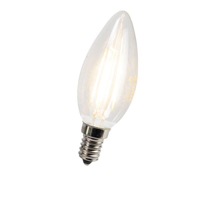 LED-filament-kaarslamp-E14-3W-300-lumen