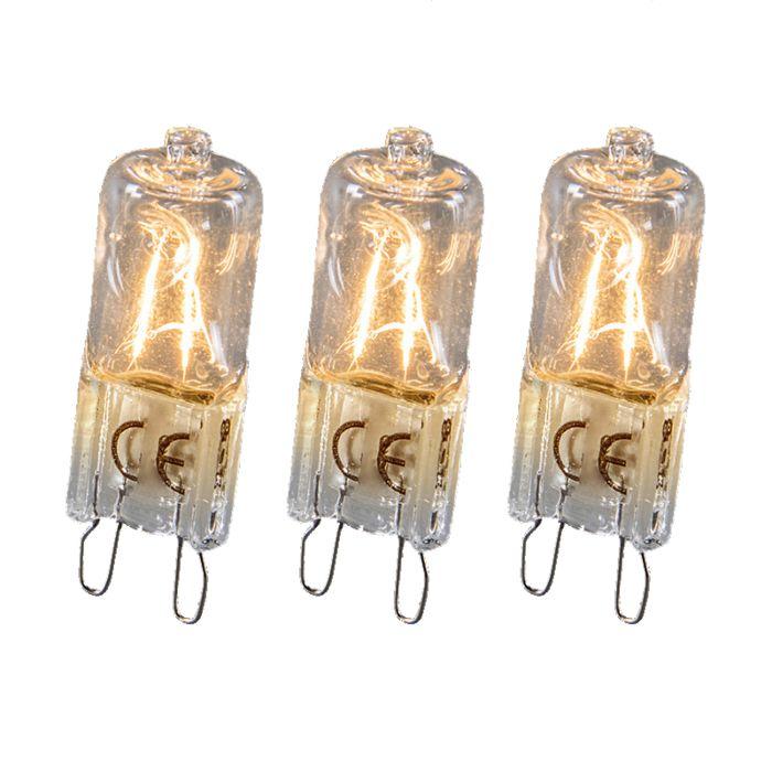 Halogeenlamp-G9-18W-set-van-3