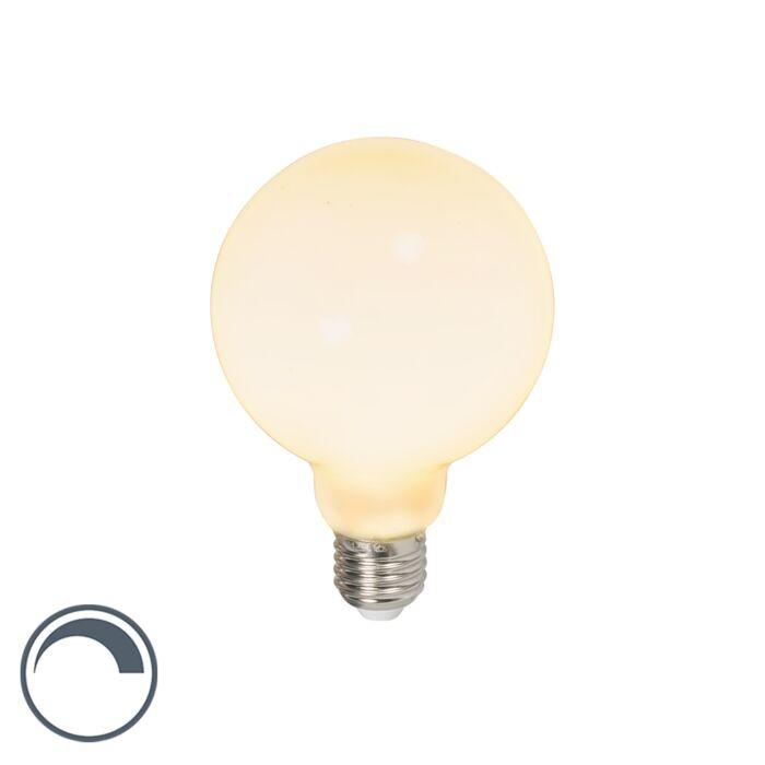 LED-globelamp-E27-240V-6W-650lm-dimbaar