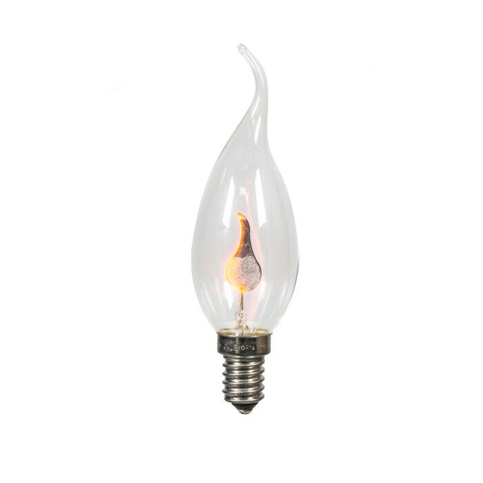 E14-gloei-tipkaarslamp-Flickervlam-BXS35-3W-5-lm-2200K