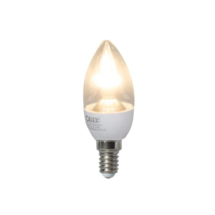 LED-kaarslamp-E14-4W-250-lumen-warm-wit-Dimbaar