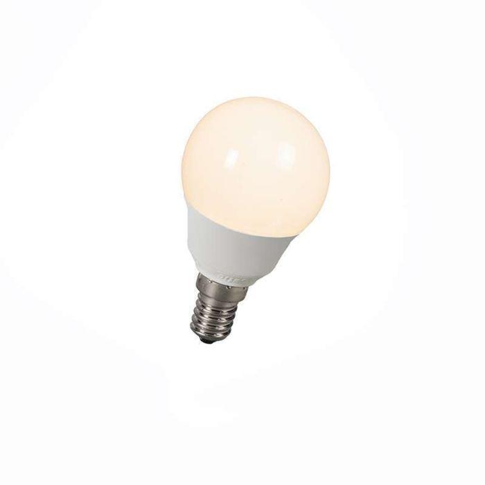 Spaarlamp-kogel-E14-5W-=-25W