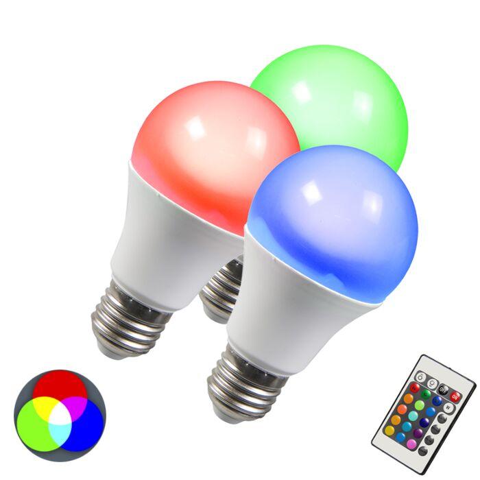 LED-lamp-RGB-E27-10W-extra-warm-wit-set-van-3