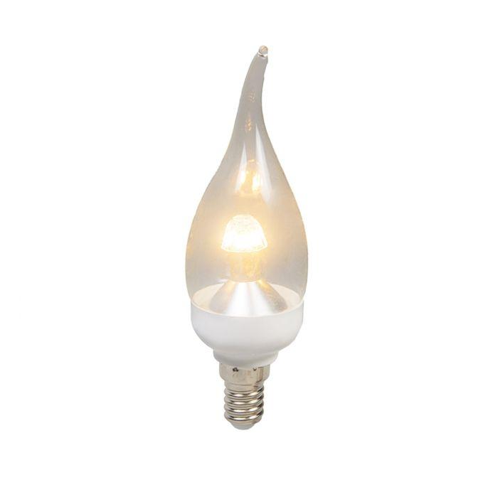 LED-tipkaars-E14-4W-250-lumen-warm-wit-Dimbaar