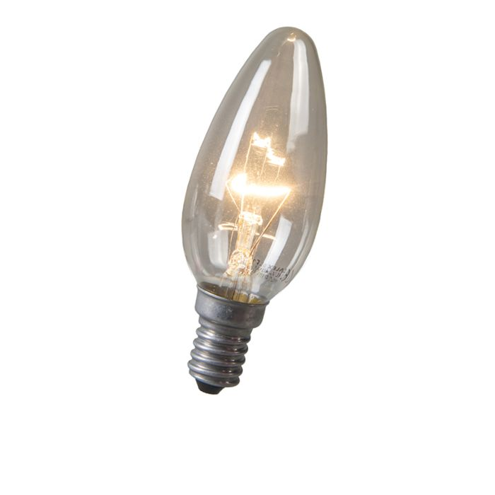 Kaarslamp-E14-40W-helder