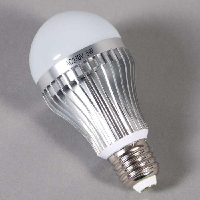 LED-gloeilamp-E27---5W-=-45W-licht