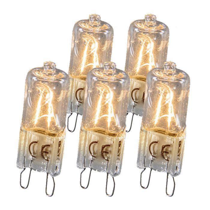Halogeenlamp-G9-18W-set-van-5