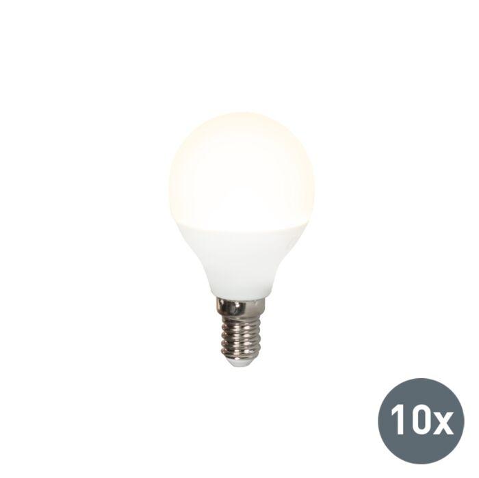 Set-van-10-LED-lamp-P45-E14-5W-3000K