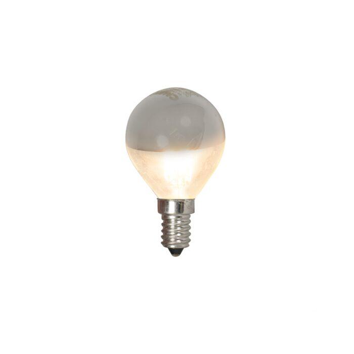 LED-filament-kogellamp-kopspiegel-E14-240V-4W-370lm