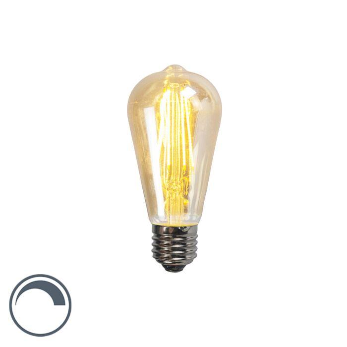 E27-dimbare-LED-filament-lamp-ST64-5W-450-lumen-2200K