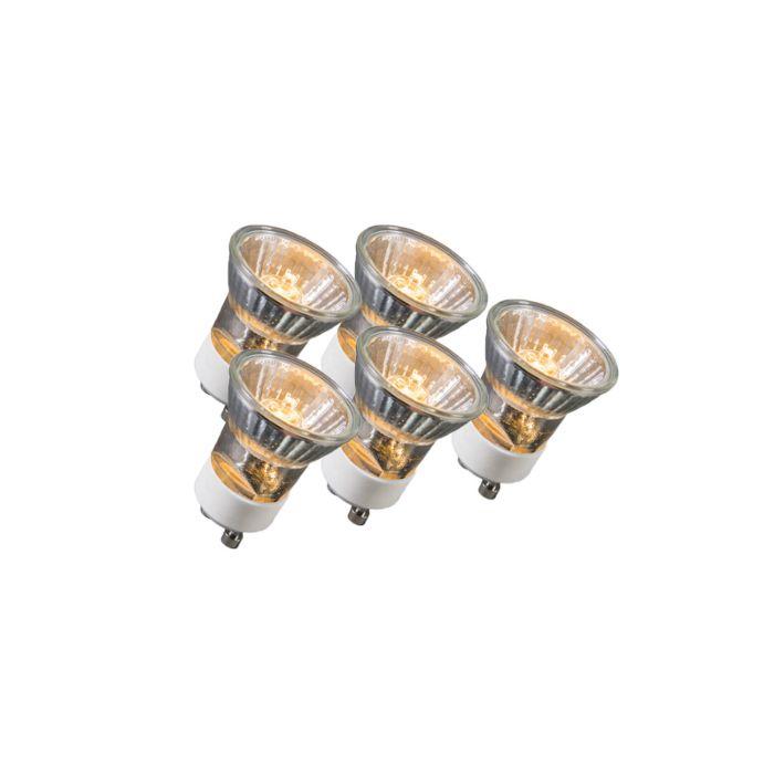 Set-van-5-GU10-Halogeenlamp-35W-230V-35mm