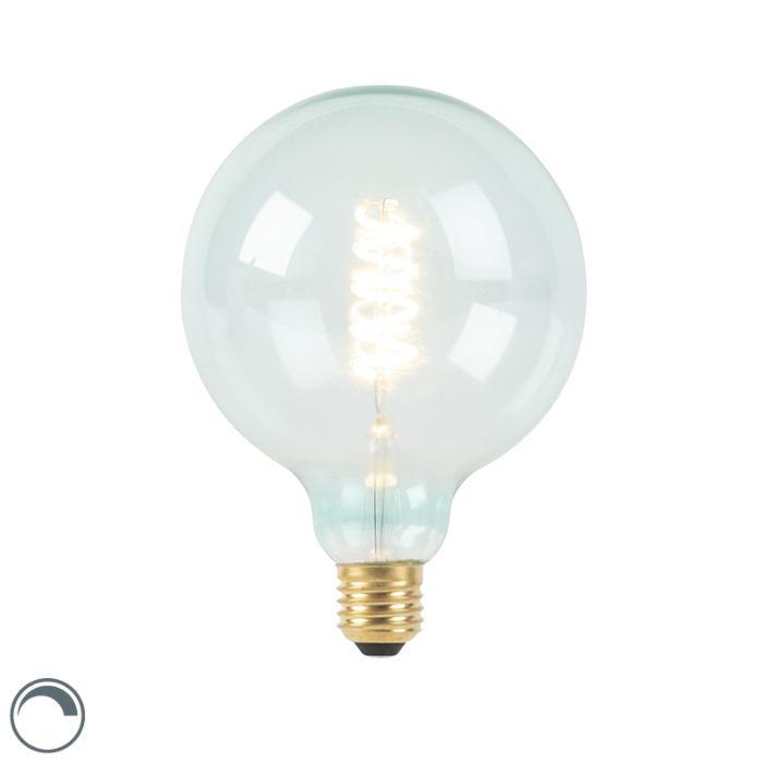 E27-dimbare-LED-spiraal-filament-lamp-G125-blauw-200-lm-2100K
