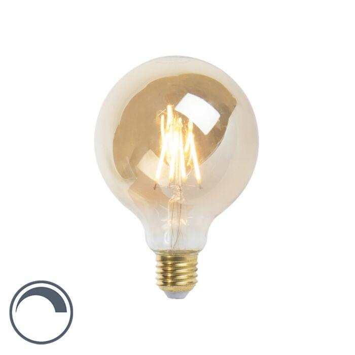 LED-E27-dimbare-filament-lamp-G95-goldline-360lm-2200K