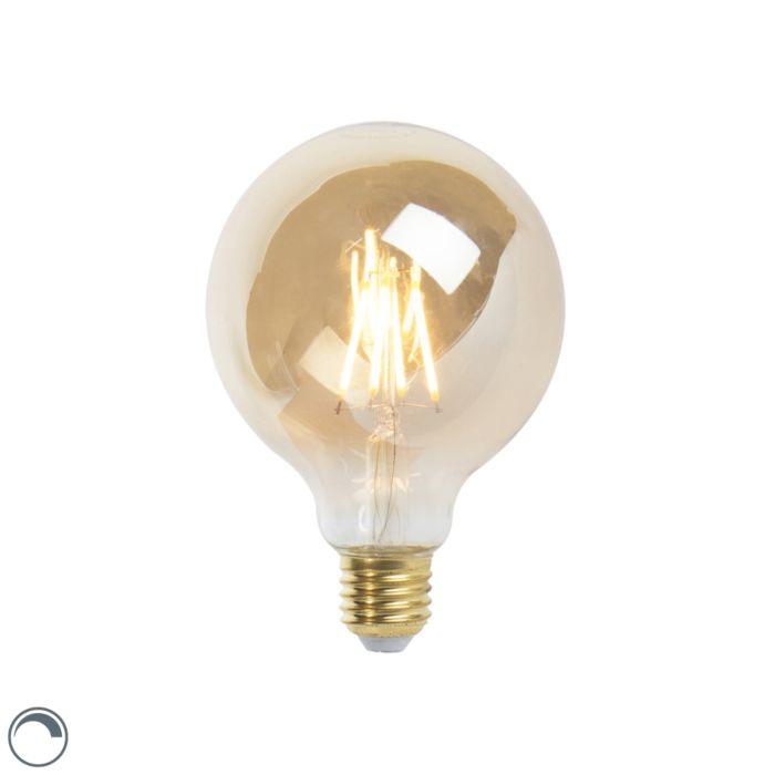 E27-dimbare-LED-filament-lamp-G95-goldline-5W-360-lm-2200K