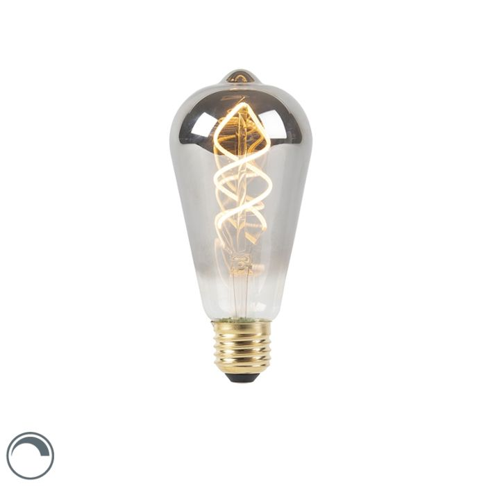 E27-dimbare-LED-gedraaid-filament-lamp-smoke-100-lm-2100K