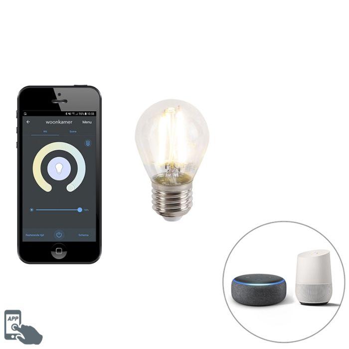 Smart-E27-dimbare-LED-lamp-met-app-450-lm-1800-3000K
