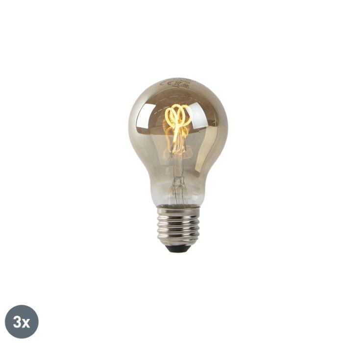 Set-van-3-E27-LED-spiraal-filament-lampen-smoke-80-lm-2200K
