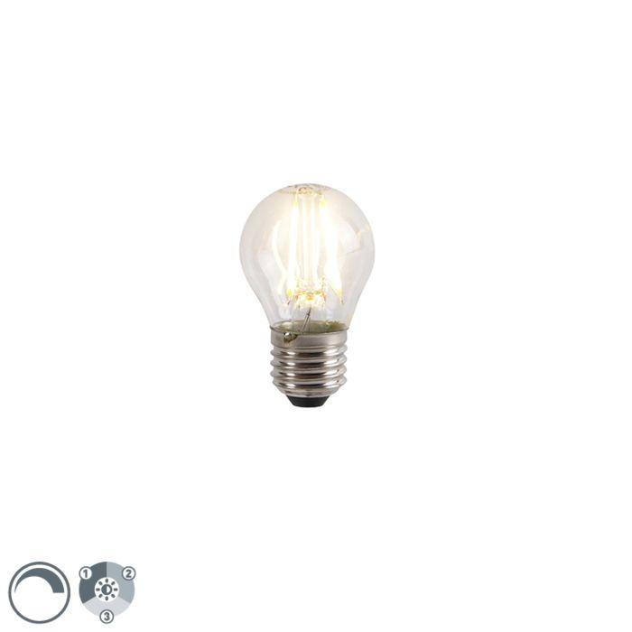 E27-LED-lamp-P45-3-staps-dimbaar-5W-2700K