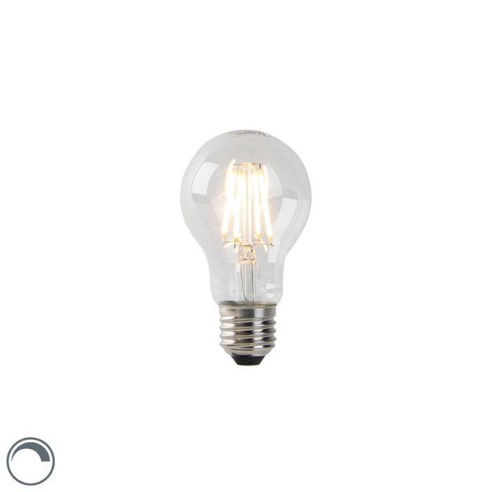 LED-lamp-A60-E27-4W-2200K-helder-filament-dimbaar