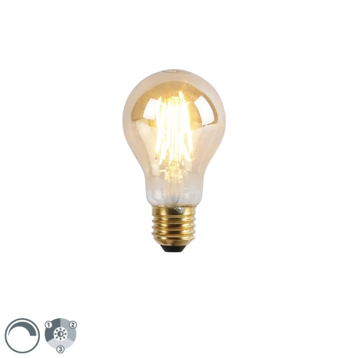 E27-3-staps-dimbare-LED-lamp-A60-goldline-5W-550-lm-2200K
