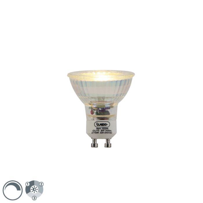 GU10-dimbare-LED-lamp-3-staps-dimbaar-5W-345lm-2700-K