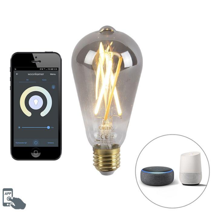 Smart-E27-dimbare-LED-lamp-met-app-7W-400-lm-1800-3000K